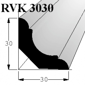 Lišta RVK 3030