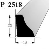 Lišta P 2518