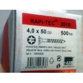Stavební vruty Rapi-tec 2010 4x50 mm