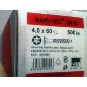 Stavební vruty Rapi-tec 2010 4x60 mm