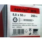 Stavební vruty Rapi-tec 2010 5x50 mm