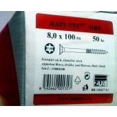 Stavební vruty Rapi-tec HBS 8x100 mm
