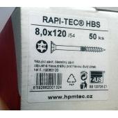 Stavební vruty Rapi-tec HBS 8x120 mm