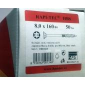 Stavební vruty Rapi-tec HBS 8x160 mm