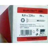 Stavební vruty Rapi-tec HBS 8x220 mm