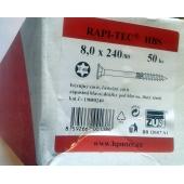 Stavební vruty Rapi-tec HBS 8x240 mm