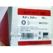 Stavební vruty Rapi-tec HBS 8x260 mm