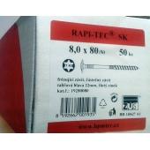 Stavební vruty Rapi-tec SK 8x80 mm