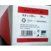 Stavební vruty Rapi-tec SK 8x120 mm
