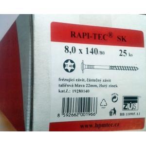 Stavební vruty Rapi-tec SK 8x140 mm