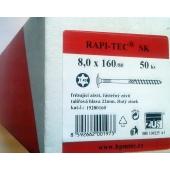 Stavební vruty Rapi-tec SK 8x160 mm