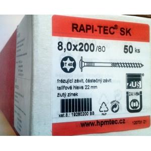 Stavební vruty Rapi-tec SK 8x200 mm
