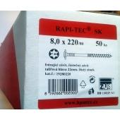Stavební vruty Rapi-tec SK 8x220 mm