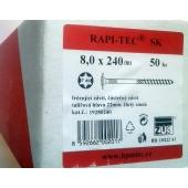Stavební vruty Rapi-tec SK 8x240 mm