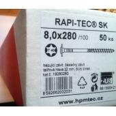 Stavební vruty Rapi-tec SK 8x280 mm