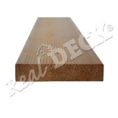 Thermowood borovice  26 x 140mm  drážkované