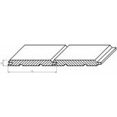 Palubky obkladové 16x121x4000 mm