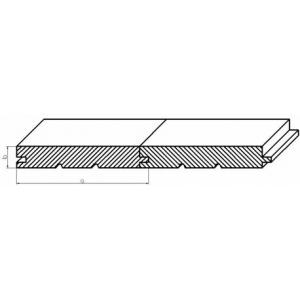 Palubky podlahové 27x146x4000
