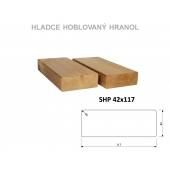 Thermowood hranol borovice SHP 42x117 mm