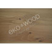 Dubová podlaha 1-pás, šíře 192 mm, rustik lehce kouřový bílý