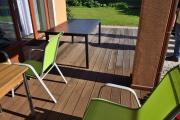 Dřevěné terasy z exotických dřevin