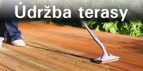 Údržba terasy