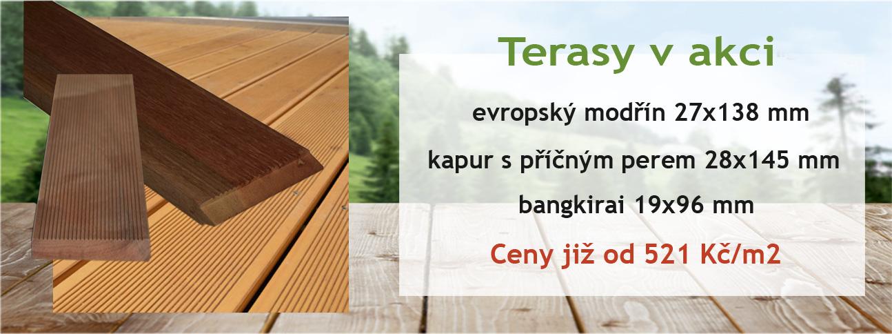 akce terasové oleje