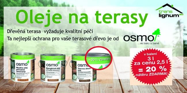 akce terasový olej
